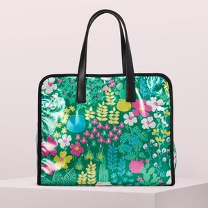 Kate Spade Morley Garden Posy Large Tote New!